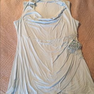 Light Blue Studio Y Maurices Top